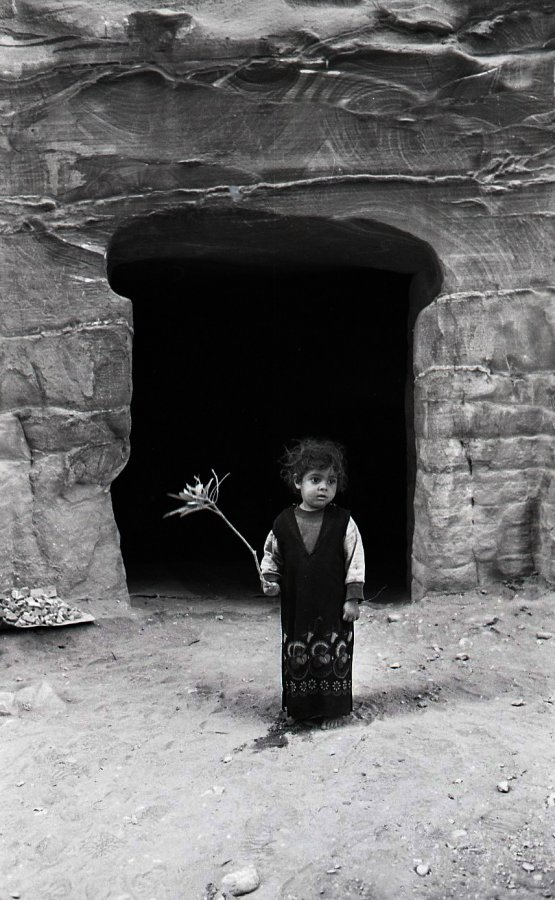 Pétra - Jordanie - 1992 © Marc Paygnard