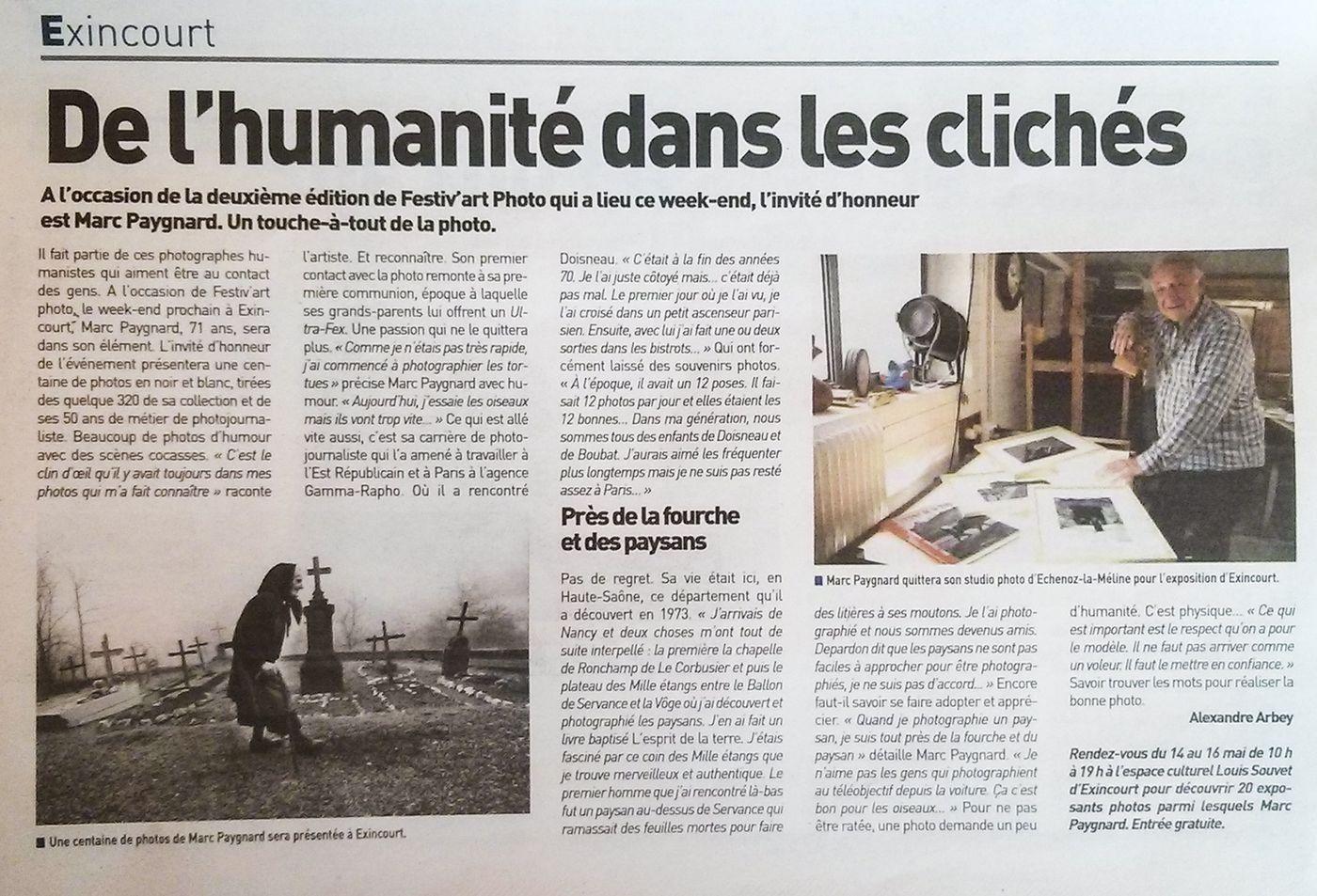 Journal La Terre de Chez Nous - 13 mai 2016